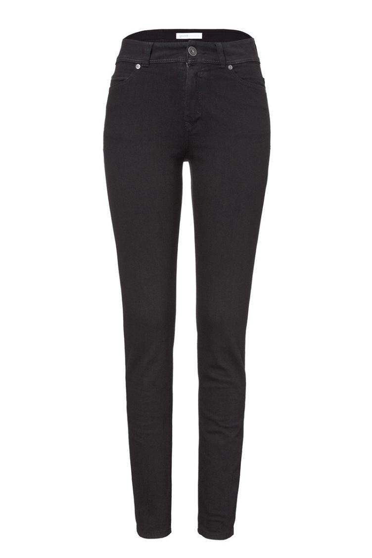 Jeans High Rise Slim Black